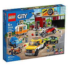 Конструктор LEGO City Тюнінг-майстерня (60258)