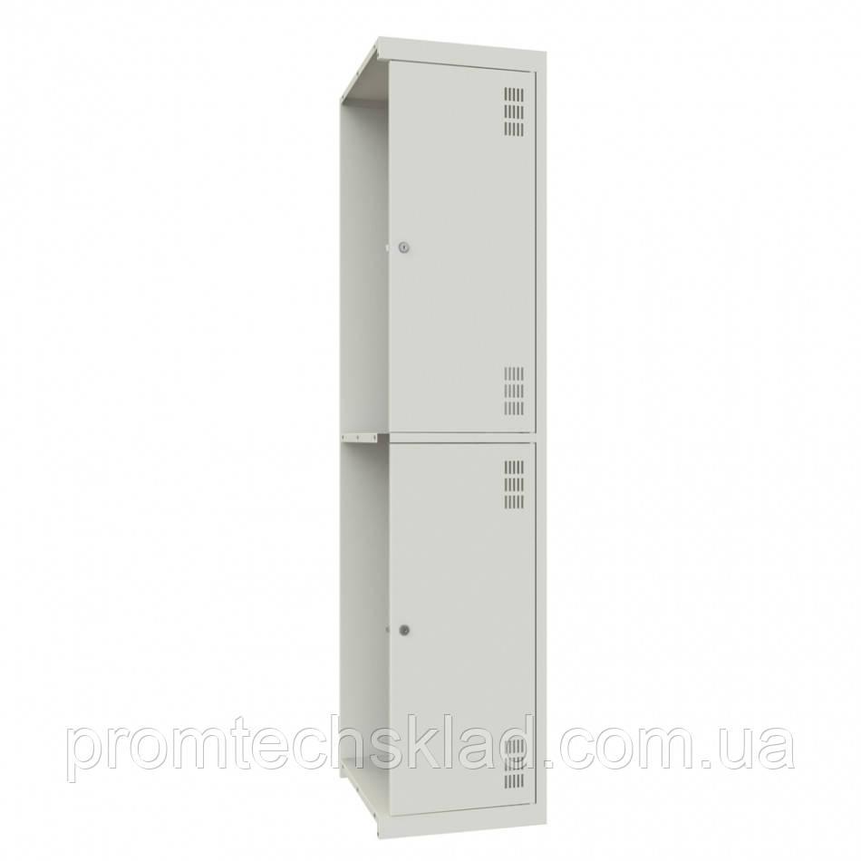 Приставной шкаф одежный двухкамерный, двухуровневый