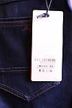 Чоловічі утеплені джинси на флісі, фото 4