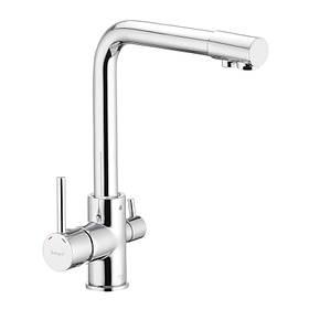 Смеситель для кухни с выходом для питьевой воды IBERGRIF M22109 (IB0074)