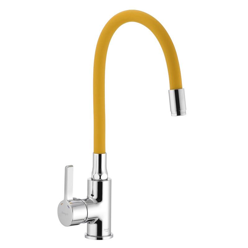 Змішувач для кухні з силіконові виливом IBERGRIF M22112-4 (IB0070)