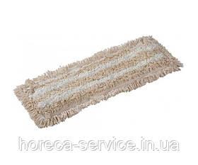 Моп петельный из хлопка и микрофибры Pro-Service влажная уборка 40х13 см.