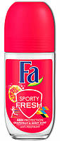 "Женский шариковый дезодорант Fa ""Sporty Fresh. Аромат Грейпфрута и Ягод"" (50мл.)"