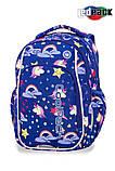 Рюкзак CoolPack STRIKE S LED UNICORNS 38x28x18 см 19 л Синий (A18208), фото 2
