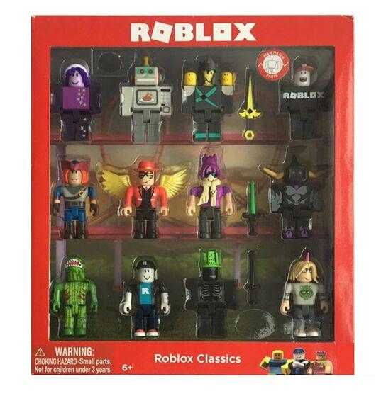 Большой набор фигурки Роблокс 12 в 1 игрушки Roblox Classics