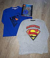 Регланы для мальчиков  Superman 134-152 рост (за 2 шт)