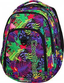 Рюкзак школьный CoolPack Strike L + USB PORT для девочек 0.68 кг 44 x 32 x 15 см 27 л Jungle (B18041)