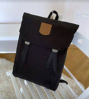 Стильный женский рюкзак канкен kanken foldsack no.1 черный городской, повседневный, для ноутбука