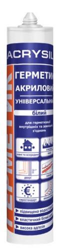 Герметик акриловый Универсальный Lacrysil Белый 280 мл