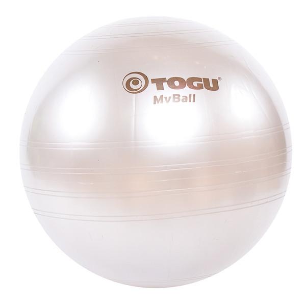 Мяч фитнес TOGU 65 см, MyBall, серебро (Silver)