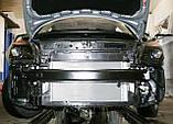 Декоративно-защитная сетка радиатора Skoda Fabia II  фальшрадиаторная решетка, бампер, фото 2