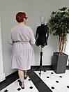 Платье женское Барби серое ADRESS MKAD6759, фото 3