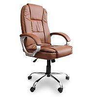 Кресло офисное Boston коричневое