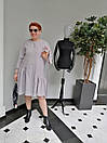 Платье женское Барби серое ADRESS MKAD6759, фото 5