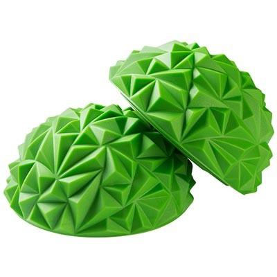 """Балансувальна півсфера, """"риф"""", салатовий/зелений. Знижка від 30 шт."""