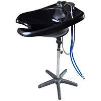 Мойка для волос парикмахерская 210В со  смесителями (Черная )