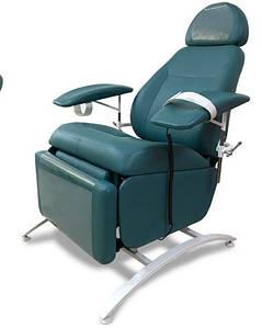 Кресло донорское для забора крови на электро КД-4РЭ, кресло для забора крови регулируемое
