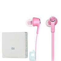 Наушники с микрофоном high copy Xiaomi PISTON 5 розовые