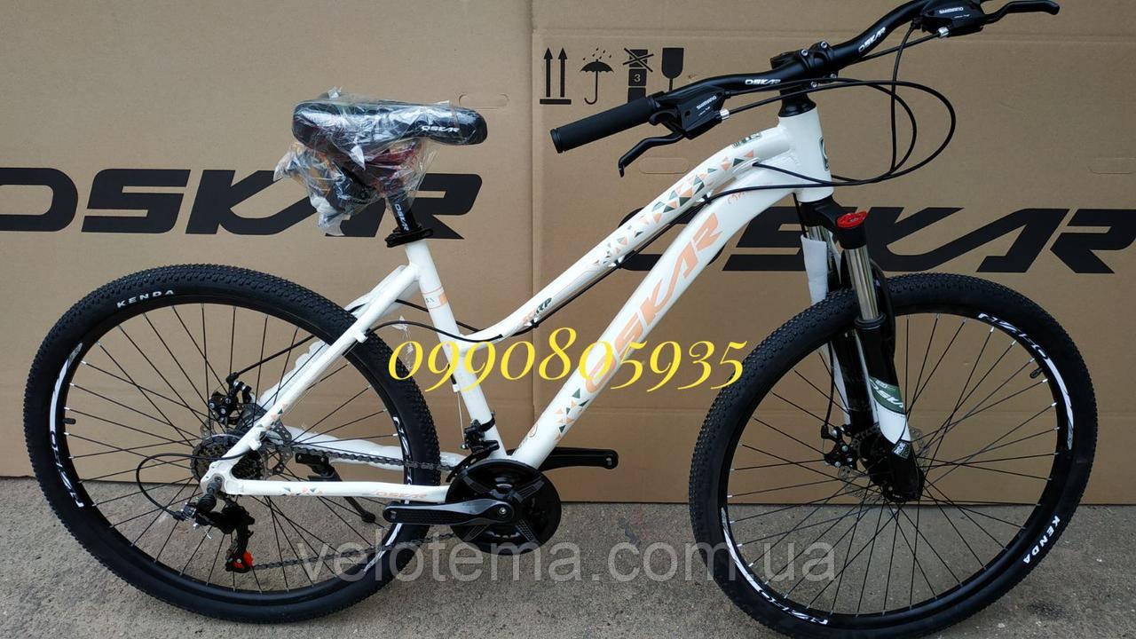 Велосипед женский алюминиевый Oskar Scarp 27,5 колёса