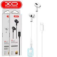 Наушники с микрофоном XO EP23 Type-C белые