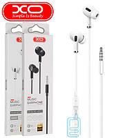 Наушники с микрофоном XO EP22 3.5mm jack белые