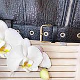 Куртка жіноча натуральна *ADAMO*, шкіра теляча преміум, розмір С,М,Л,ХЛ,білий,чорний колір, фото 3