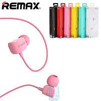 Наушники с микрофоном Remax RM-502 Crazy Robot розовые