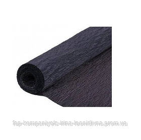 Набір кольорового паперу МІЦАР, крепований (сірий) №10, 500мм/2000мм (5 шт/уп)