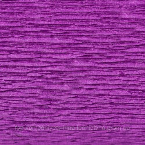 Набір кольорового паперу МІЦАР, крепований (фіолетовий) №8, 500мм/2000мм (5 шт/уп)