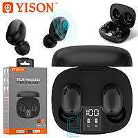 Bluetooth наушники с микрофоном Yison TWS-T4 черные