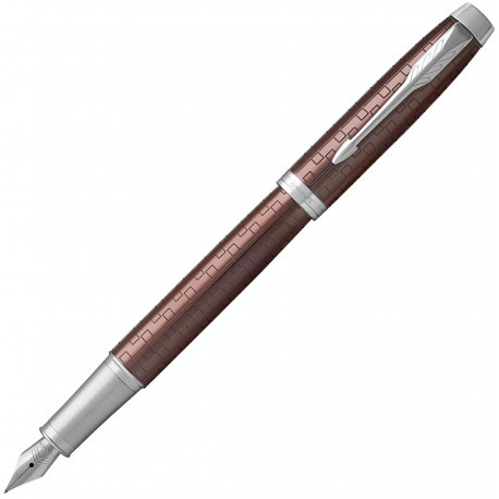 Ручка перьевая Parker IM 17 Premium Brown CT FP F 24 511