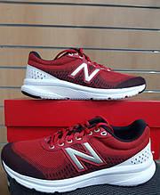 Кроссовки New Balance красные сетка