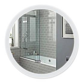 Зеркало Qtap Mideya с антизапотеванием (DC-F807) 600х600 QT2078F807W