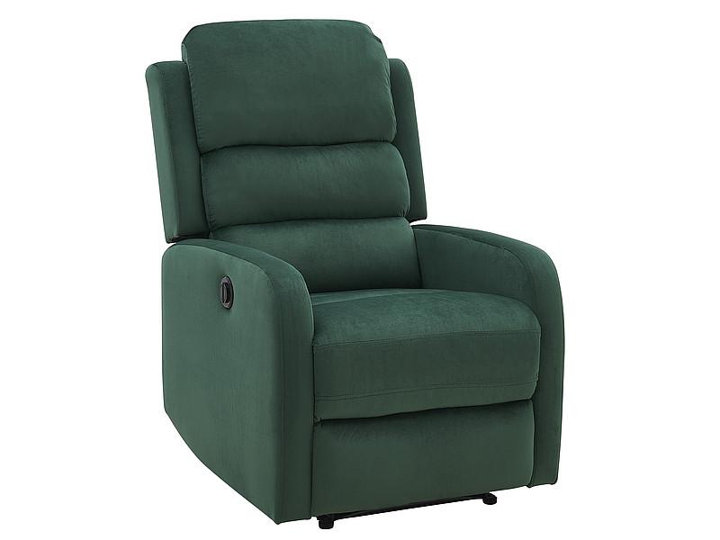 Крісло розкладне Pegaz Velvet ZIELONY BLUVEL 78