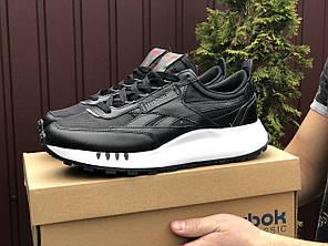 Чоловічі кроссовки Reebok чорний / білий. [Розміри в наявності: 41,43,44,45,46]