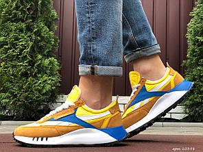 Чоловічі кроссовки Reebok помаранчевий / синій. [Розміри в наявності: 41,42,43,44,45,46]