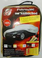 """Тент автомобильный """"XL"""" Milex Polister (зеркало замок сумка) серый 102026"""
