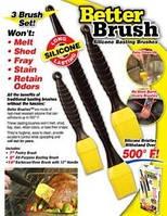 Набор кондитерских силиконовых кистей Better Brush, фото 1