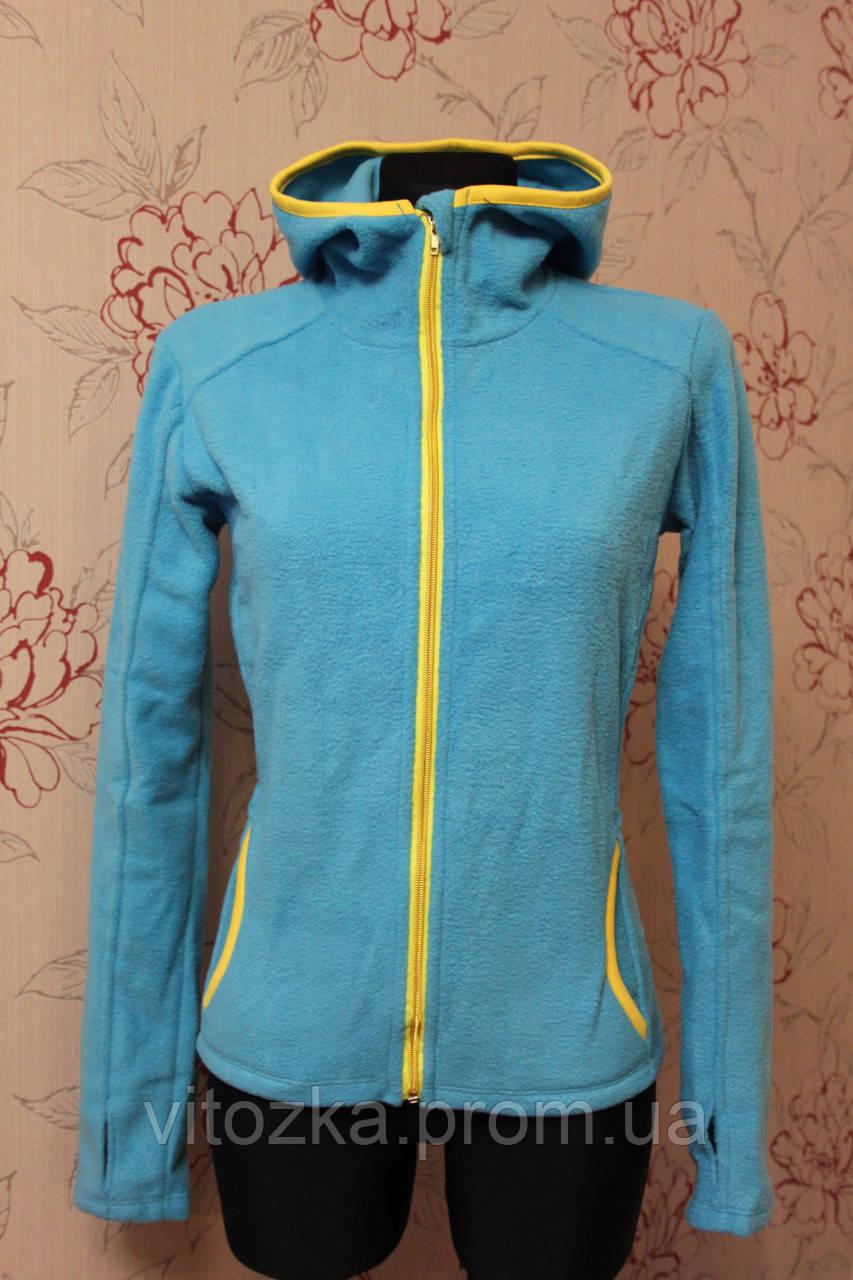 c93ba766b7a2 Флисовая кофта женская с капюшоном, спорт