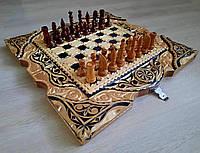 Шахматы деревянные ручной работы