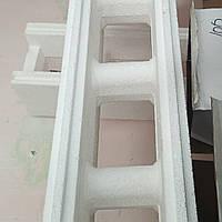 Термоблок из пенопласта для строительства зданий бассейнов Торцевой рядовой. Собственное производство