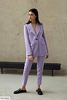 Женский стильный классический костюм, фото 1