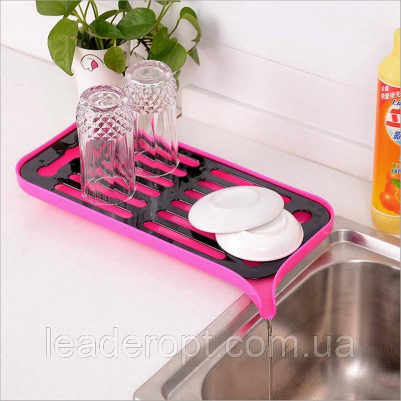 ОПТ Сливная сушилка-поднос для посуды и продуктов со сливным носиком