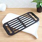 ОПТ Сливная сушилка-поднос для посуды и продуктов со сливным носиком, фото 4