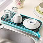 ОПТ Сливная сушилка-поднос для посуды и продуктов со сливным носиком, фото 5