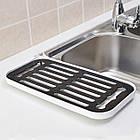 ОПТ Сливная сушилка-поднос для посуды и продуктов со сливным носиком, фото 7