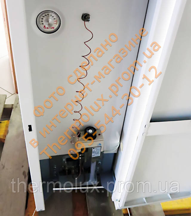 Задняя стенка газового котла АТОН Атмо АОГВ 12,5 кВт