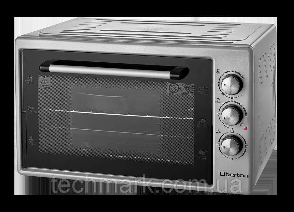 Електродуховка Електрична піч LIBERTON LEO-421 Grey  (42 л.)
