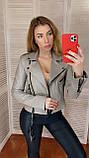 Куртка женская натуральная, кожа телячья, размеры С,М,Л,ХЛ, много цветов, фото 7