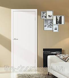 Дверне полотно Оміс Глухе гладке 34 мм